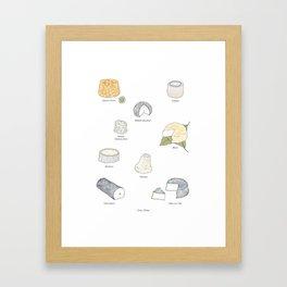 Goat Cheese Framed Art Print
