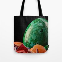 easter Tote Bags featuring Easter by Karl-Heinz Lüpke