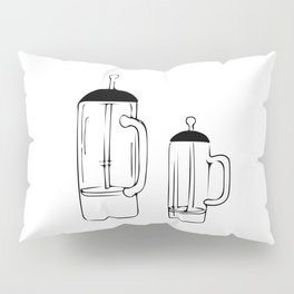 Coffee Tools: French press Pillow Sham