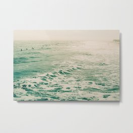 Summer Surf Metal Print