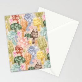 Folklore Mushrooms Stationery Cards