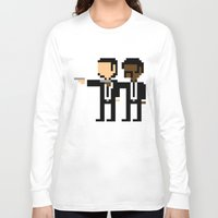 pulp Long Sleeve T-shirts featuring Pulp Pixel by william.