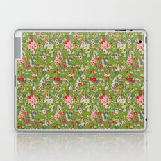 painted floral Laptop & iPad Skin