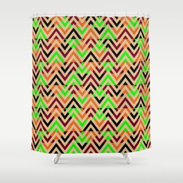 Angle Shower Curtains