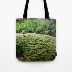 plant moss texture Tote Bag