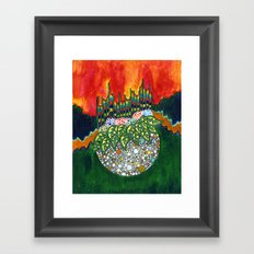 How It Sounded When You Told Me You Love Me Framed Art Print
