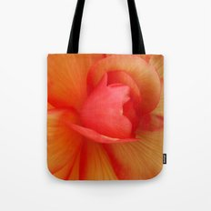 Strawberries and Cream Abstract. Tote Bag
