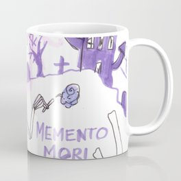 memento mori horror pattern Coffee Mug
