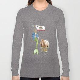 California Mermaid Long Sleeve T-shirt