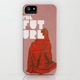 The future a time to reminisce. (mixed media) iPhone Case