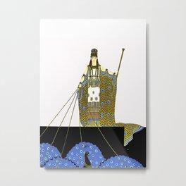 """Art Deco Design """"Hera"""" Metal Print"""