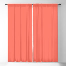 Living Coral 16-1546 TCX | Pantone Color of the Year 2019 | Color Trends | New York & London | Solid Blackout Curtain
