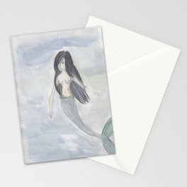 Mermaid Sister Stationery Cards