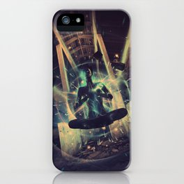 Power Trip iPhone Case