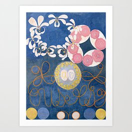 The Ten Largest No. 01 Childhood Group IV Hilma Af Klint Art Print