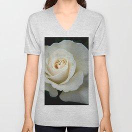 Rose Bloom Unisex V-Neck