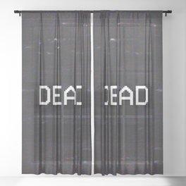DEAD Sheer Curtain