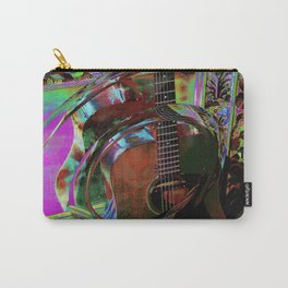 The Magic of Guitar Waves Carry-All Pouch