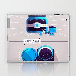 :::Sweet blueberry marmalade::: Laptop & iPad Skin
