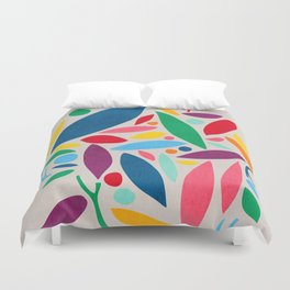 Found Objects Duvet Cover