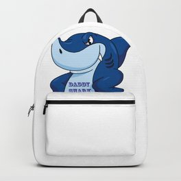 daddy shark Backpack