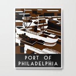 Port of Philadelphia Metal Print