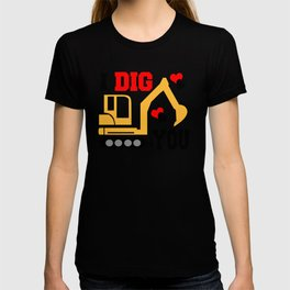 Galentines Day I Dig You Valentines Day T-shirt
