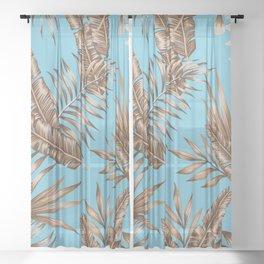 Wild Tropicals Sheer Curtain