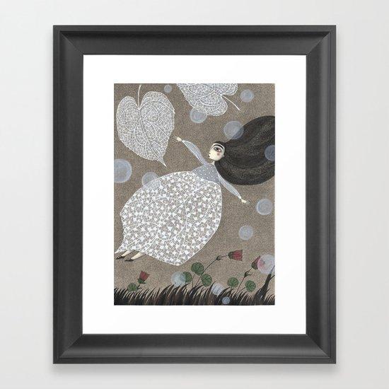 Summer's End Framed Art Print