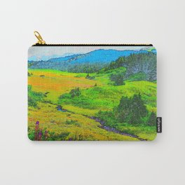 Alaska's Kenai Peninsula - Watercolor Carry-All Pouch