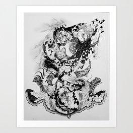 HelixQueen Art Print