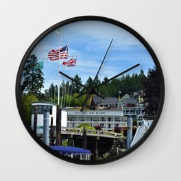 Roche Harbor Wall Clock
