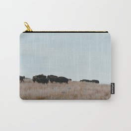 Prairie Bison Carry-All Pouch
