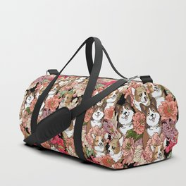 Because Corgi Duffle Bag