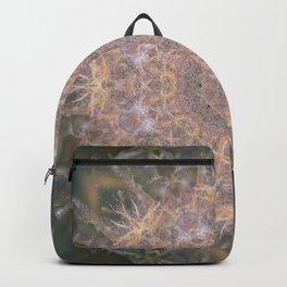 Mandala pattern from hemp Backpack
