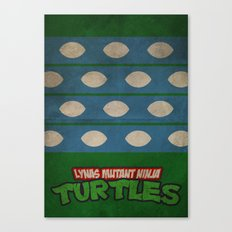 LYNAS Mutant Ninja Turtles: Leonardo Canvas Print