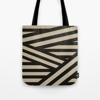decal Tote Bags featuring Bandage by Charlene McCoy