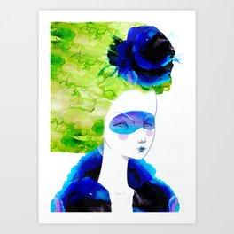 The breeze Art Print