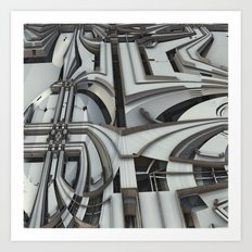 If the Federal Government Designed the Expressways Art Print