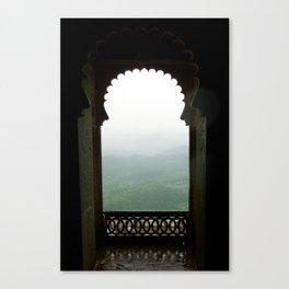 Monsoon Palace Canvas Print