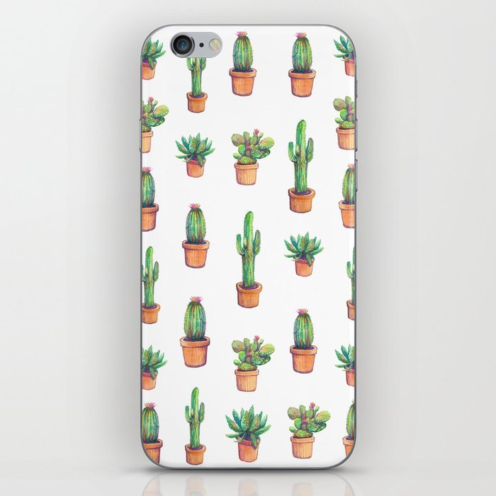 my old caactus are back iPhone Skin