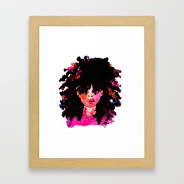 BABY HAIR AND AFROS Framed Art Print