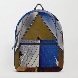 When music touches the blue sky Backpack