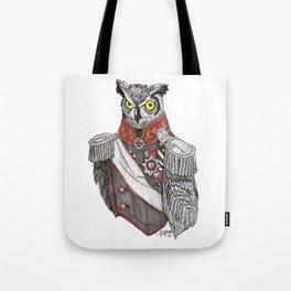 General Owlington Tote Bag