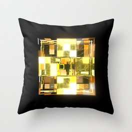 My Cubed Mind: Frame 019 Throw Pillow