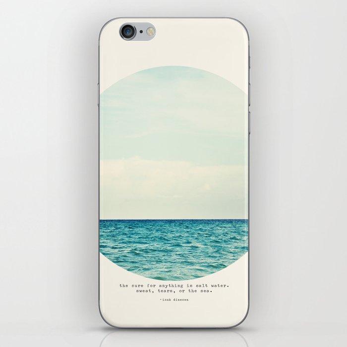 Salt Water Cure iPhone Skin
