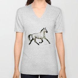 Horse (Trotter) Unisex V-Neck