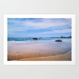 Fort Bragg Color Art Print