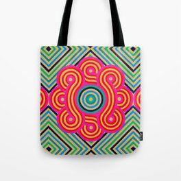 Cosmic Vibrations Within Tote Bag