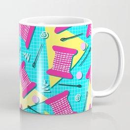 Memphis Sewing - Brights Coffee Mug